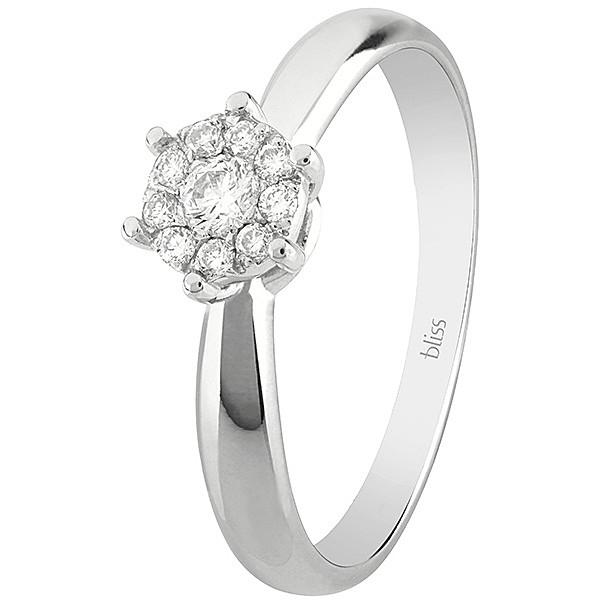 Bliss ANELLO oro bianco e diamanti ref. 20077252