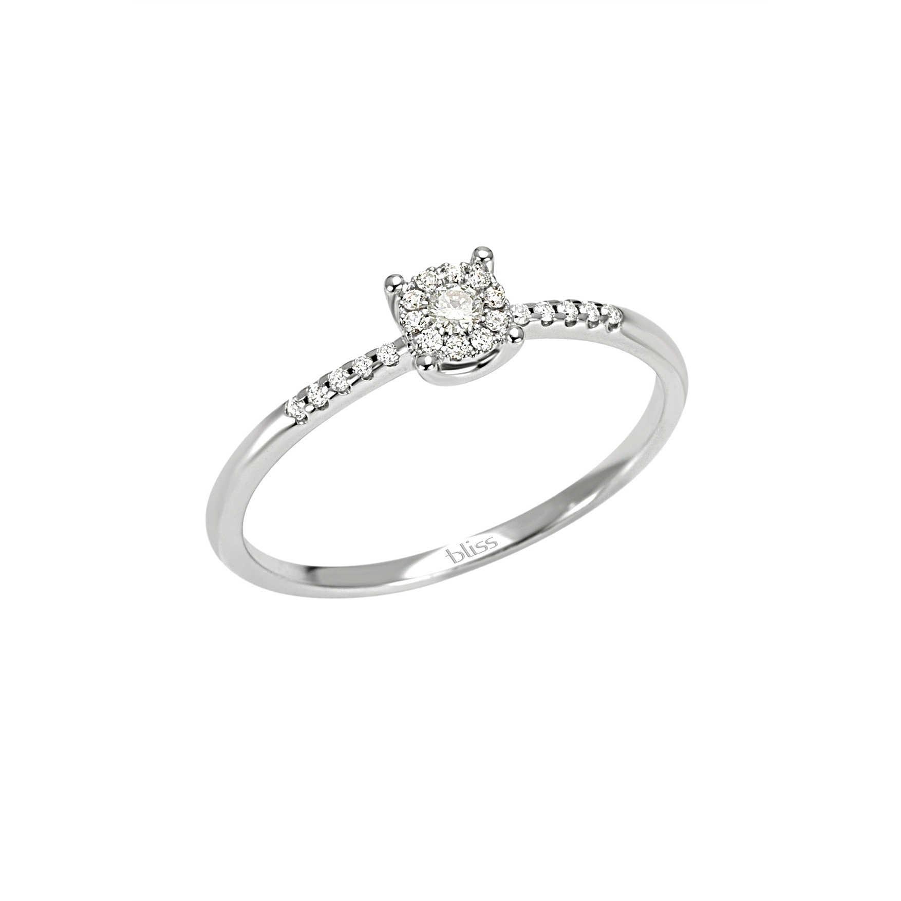 Bliss ANELLO oro bianco e diamanti ref. 20061667