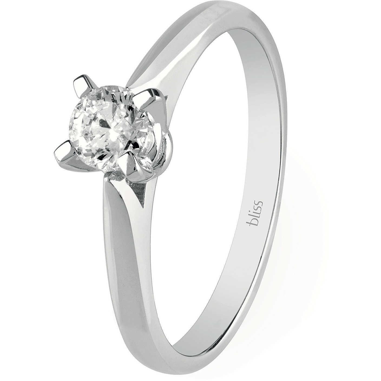 Bliss ANELLO SOLITARIO in oro bianco e diamanti ref. 20077670