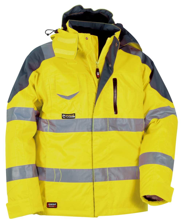 Giubbotto da lavoro alta visibilità Cofra Rescue