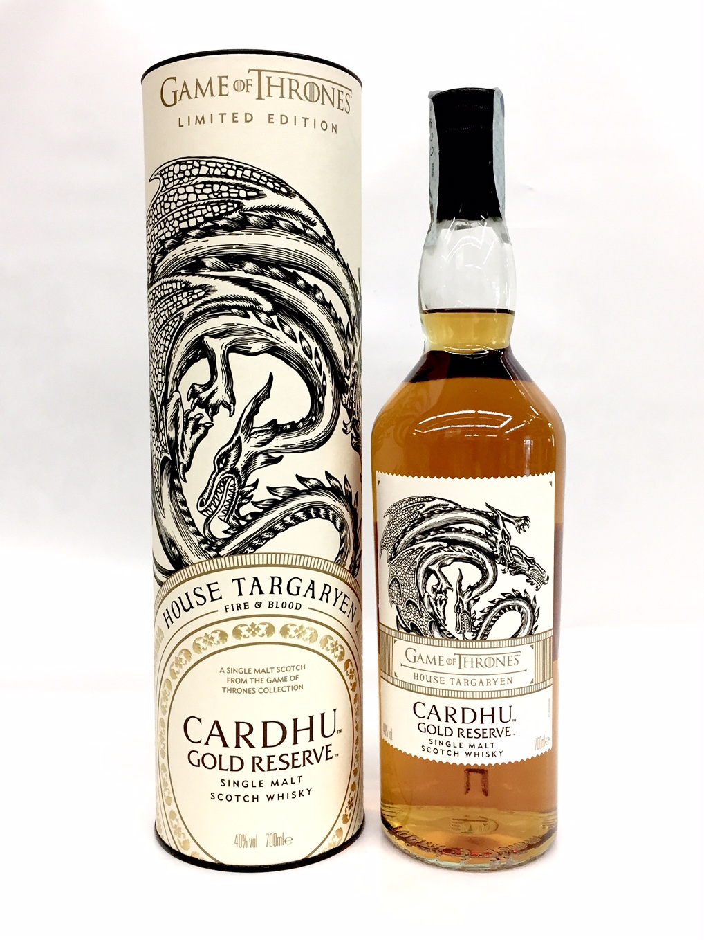 Games of Thrones : Whisky Cardhu Gold Reserve -Serie limitata