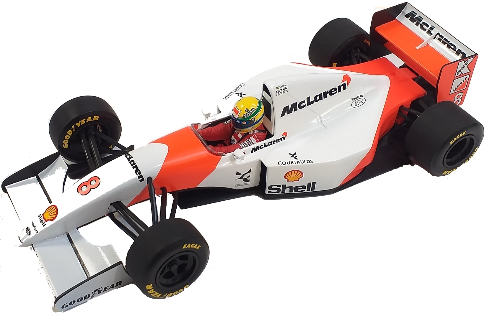 McLaren Ford MP4/8 V8 Ayrton Senna 1993 1/18