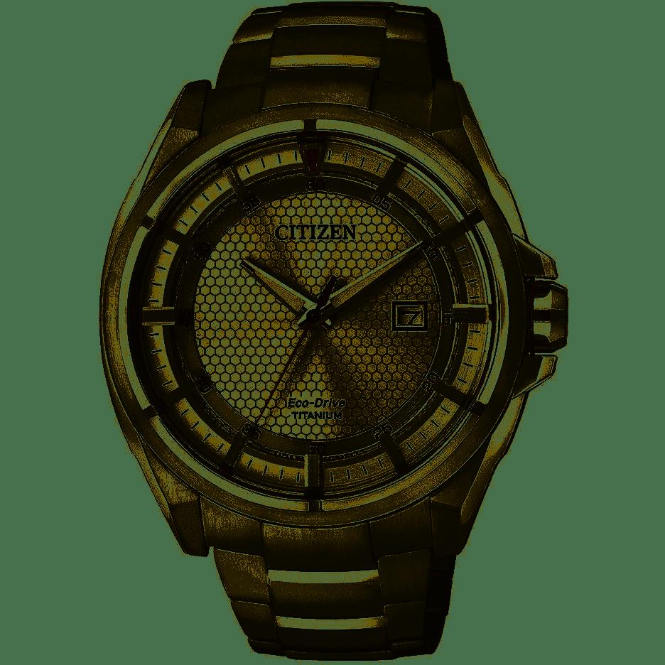 Orologio Citizen,  Eco Drive Uomo Super Titanium AW1400-52A