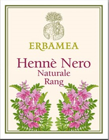 Hennè Erbamea Nero Naturale Rang 100 gr