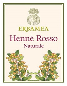 Hennè Erbamea Rosso Naturale 100 gr