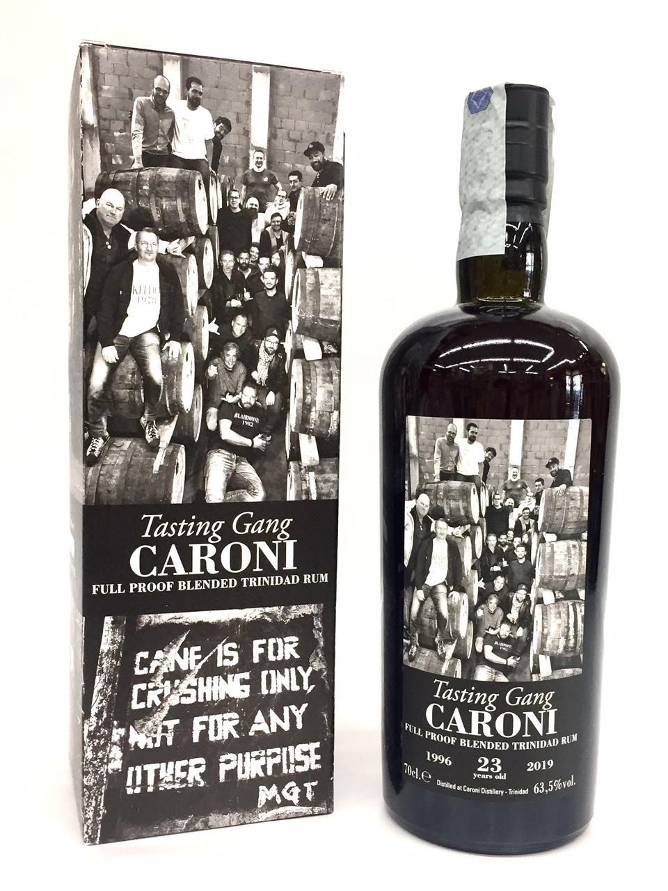 Rum Caroni TASTING GANG - Caroni Distillery - Trinidad