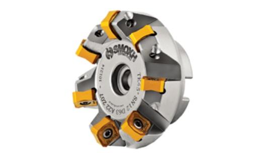Fresa a fissaggio meccanico 45° SNMX 1206