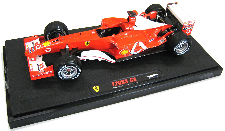 Ferrari F1 2003-GA Michael Schumacher Japan GP Elite 1/18