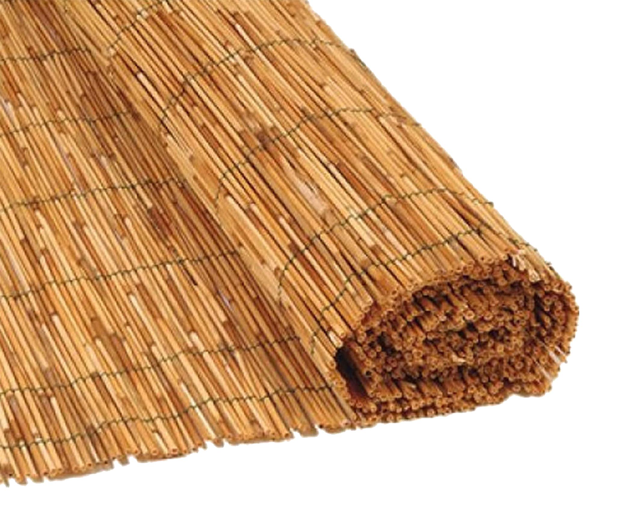 Canniccio arella 200x500cm legato con filo di nylon