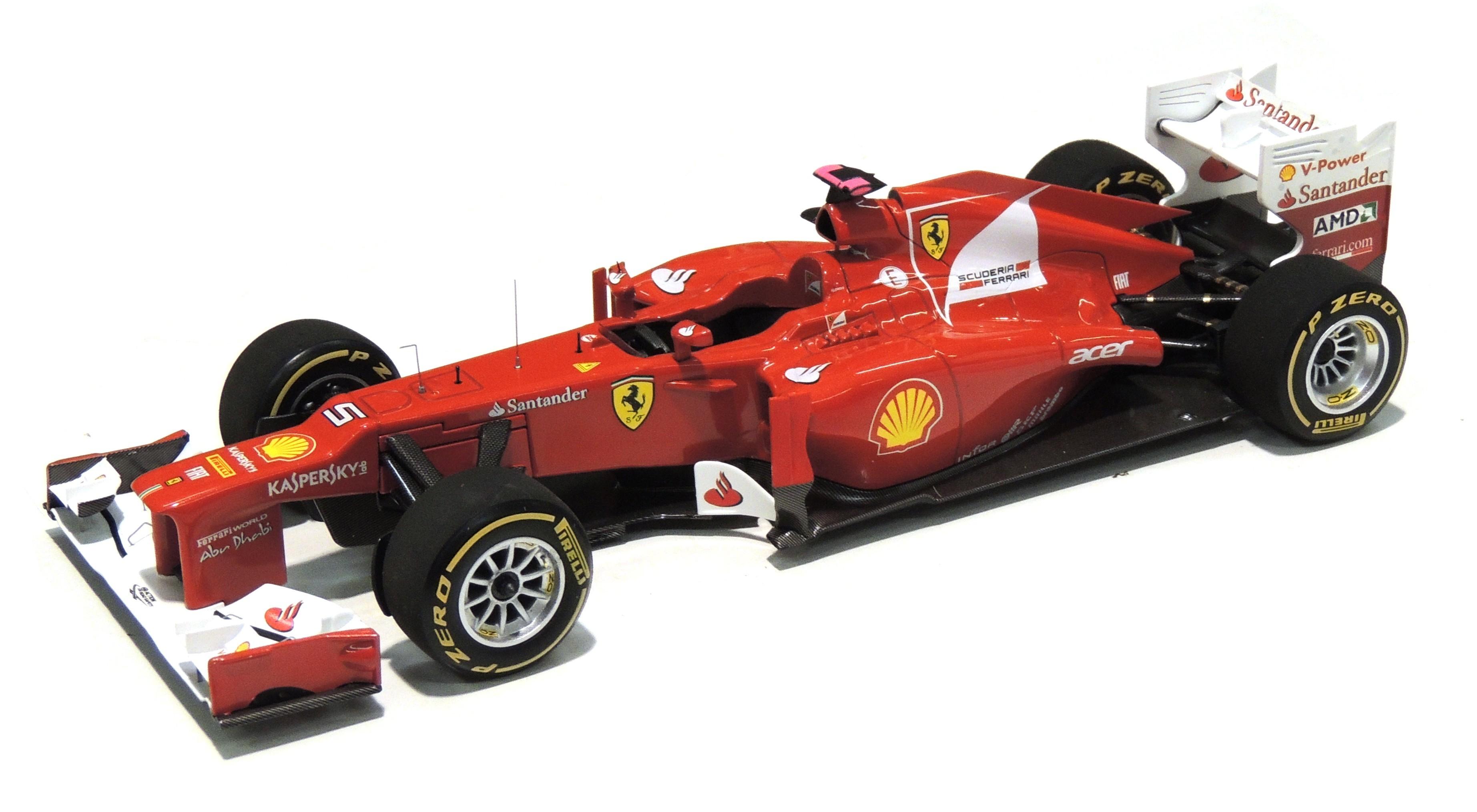 Ferrari F1 F2012 Malaysian GP Fernando Alonso Elite 1/18