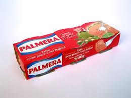 PALMERA TONNO IN SCATOLA ALL'OLIO DI OLIVA 80GR X 3