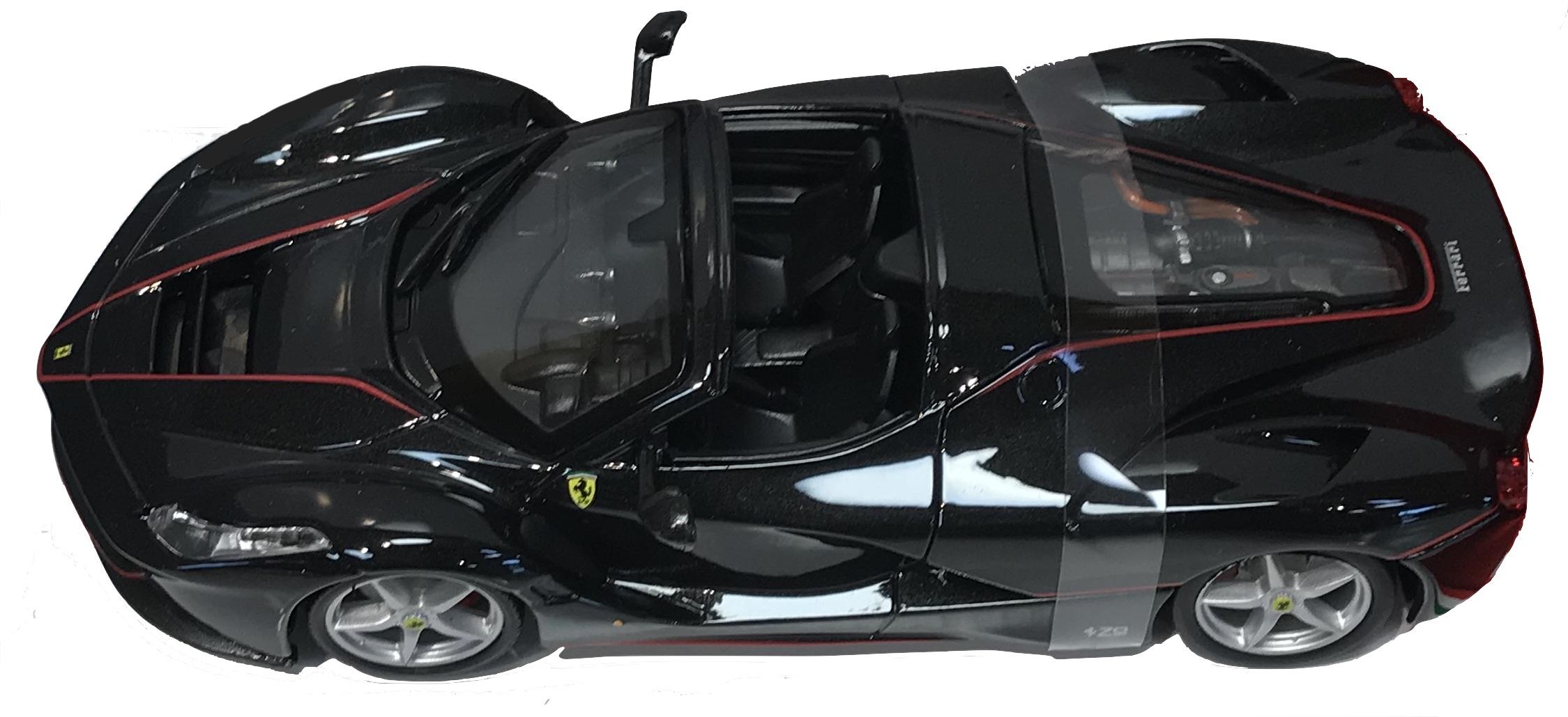 Ferrari La Ferrari Aperta Nera 1/24