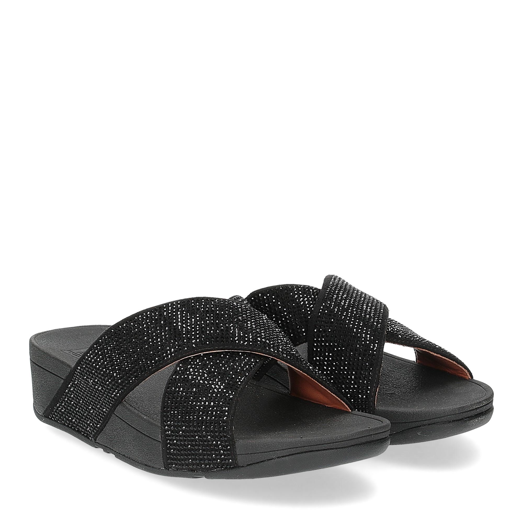 Fitflop Ritzy Slide Sandals black