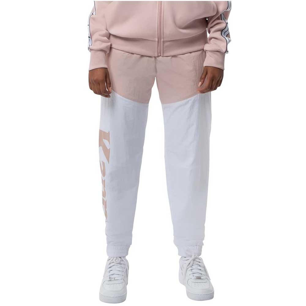 Kappa Pantalone a Vento Pink White da Donna