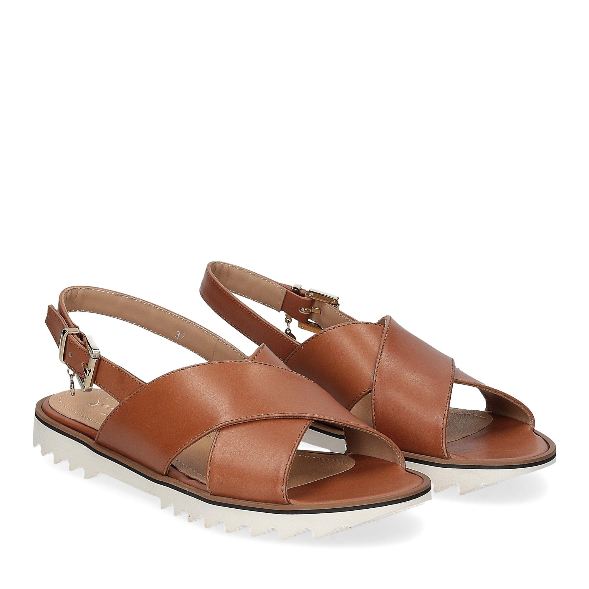 Siton sandalo pelle cuoio