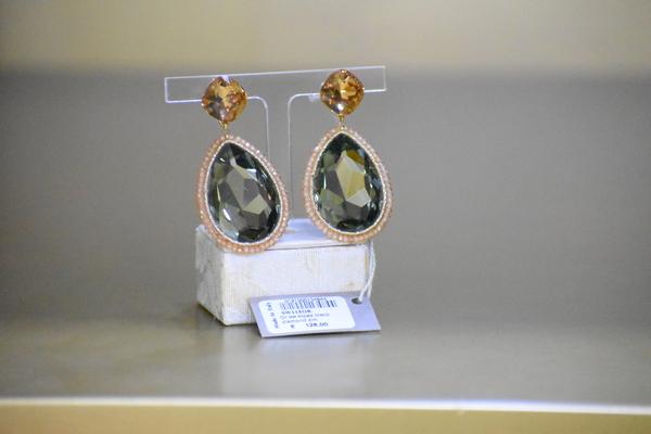 Sikè Jewels: orecchini in argento con pietre Swarovski, topazi e zirconi