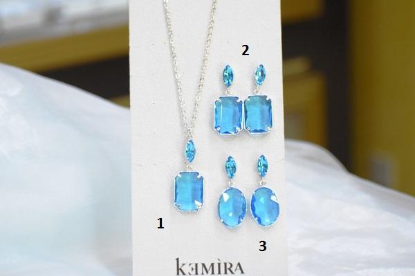 Kemìra gioielli collezione Royal: orecchini in metallo color argento (n.3)