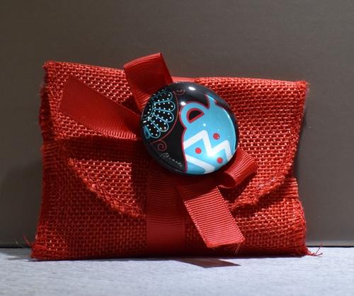 Busta Iuta con Magnete (confetti vari gusti e tipologie)