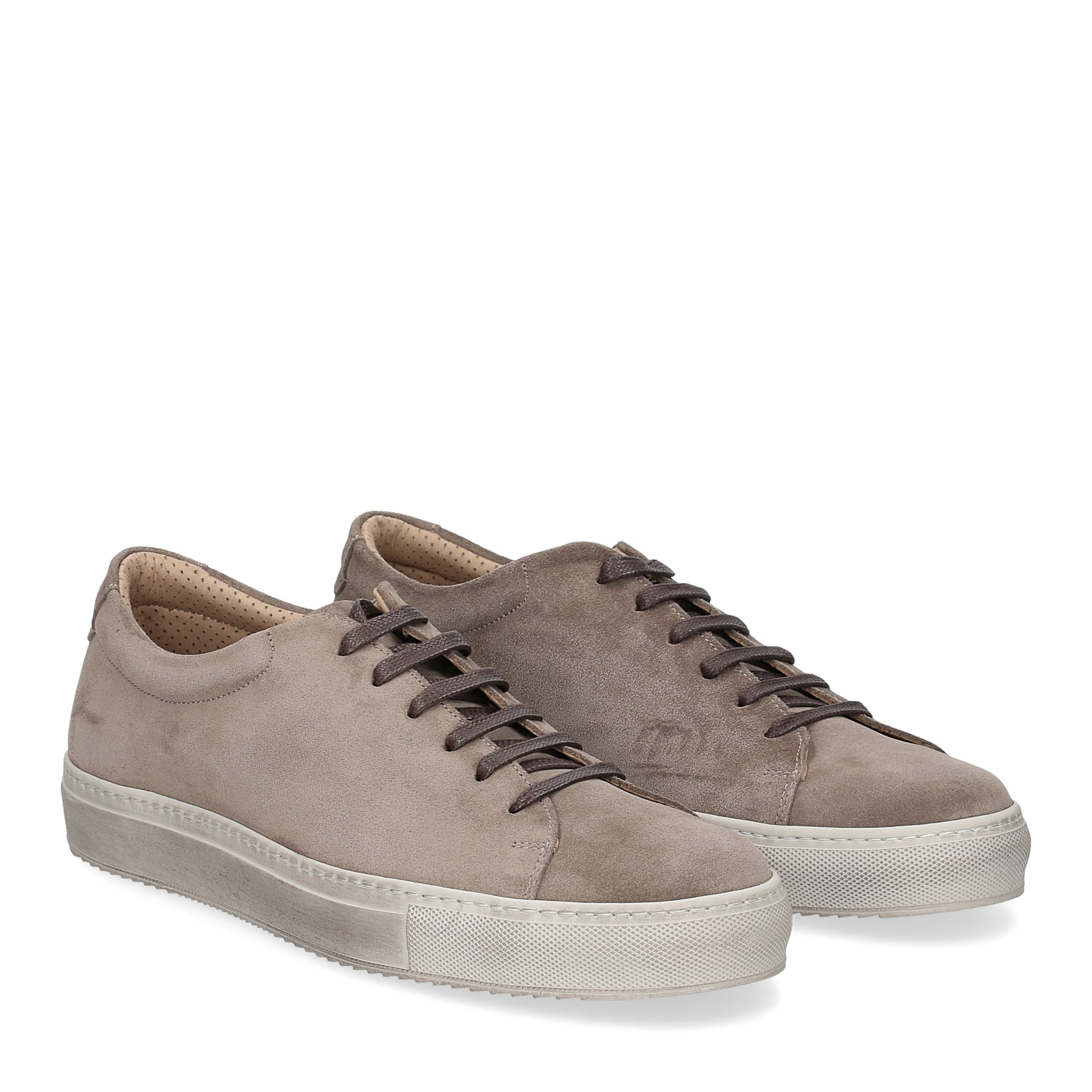 Griffi's sneaker 732 camoscio taupe