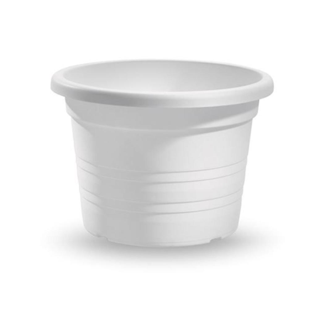 Vaso Cilindrico Diametro 80 cm Bianco