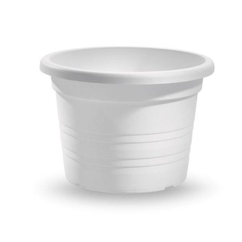 Vaso Cilindrico Diametro 60 cm Bianco