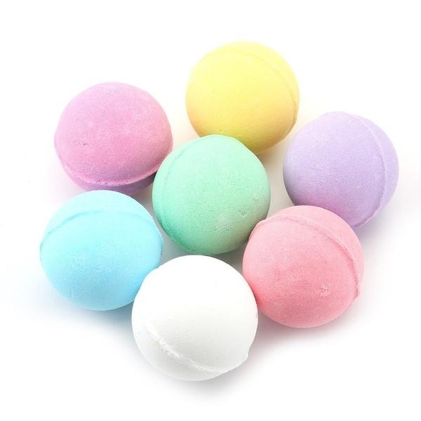 Bombe da bagno colorate 8pezzi