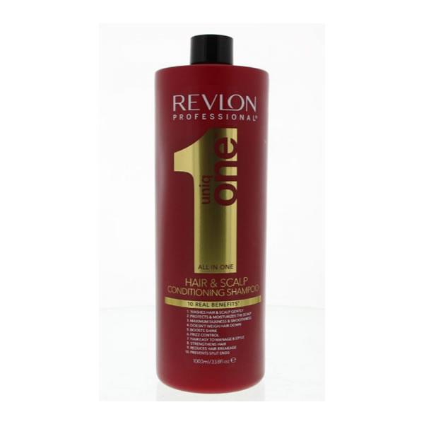 Revlon Uniq One Hair And Scalp Conditioning Shampoo 1000ml