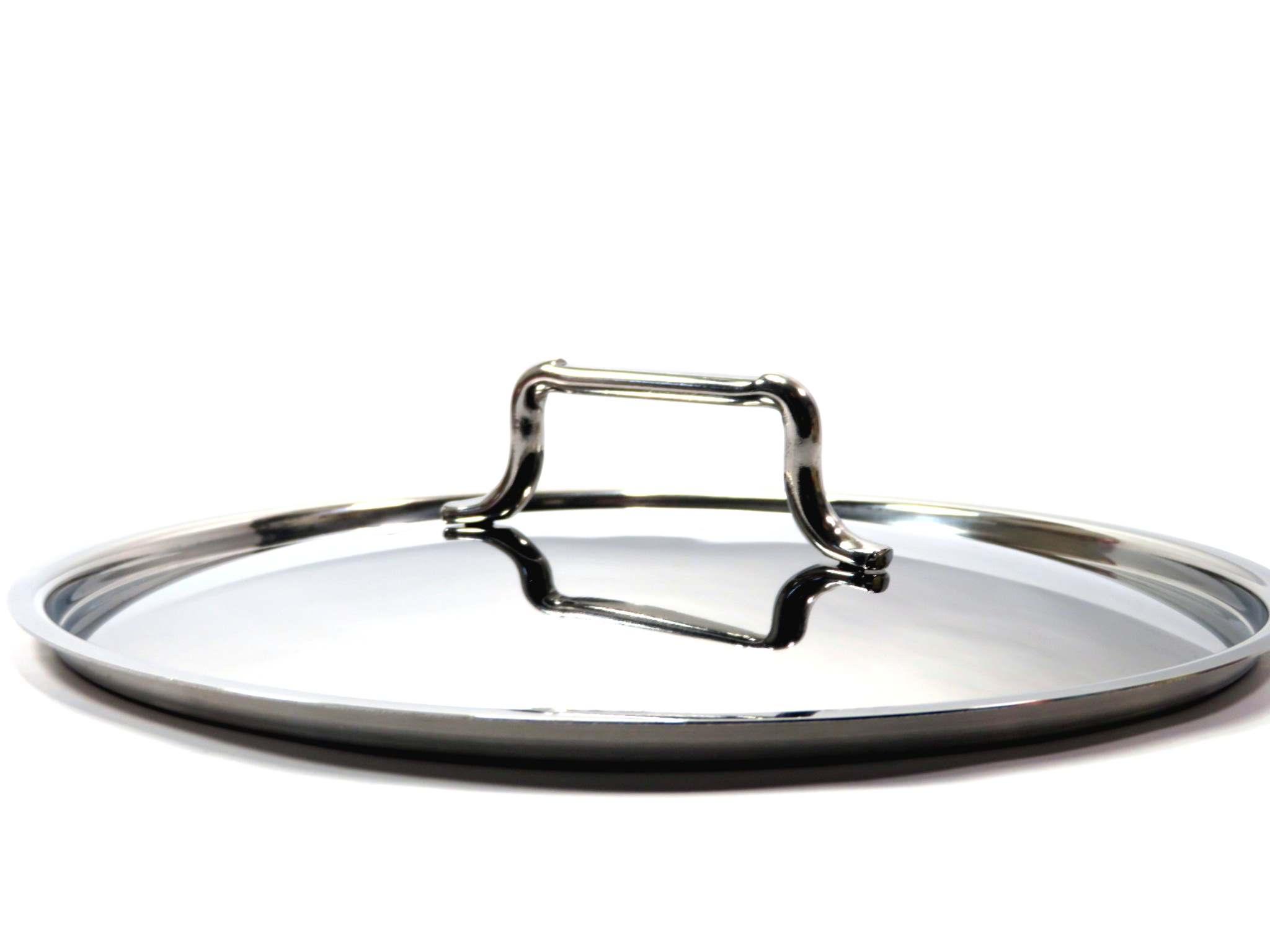 Coperchio in acciaio cm24