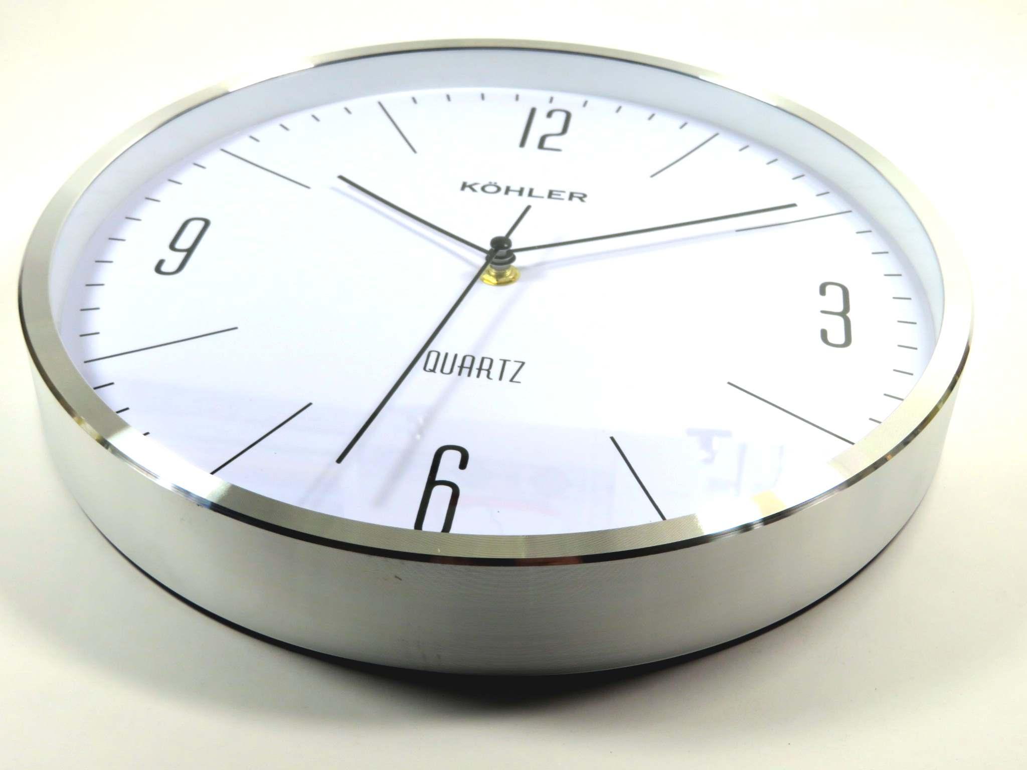 Orologio da parete cm30 alluminio