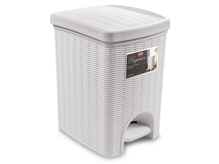 Pattumiera elegance 20 litri bianca