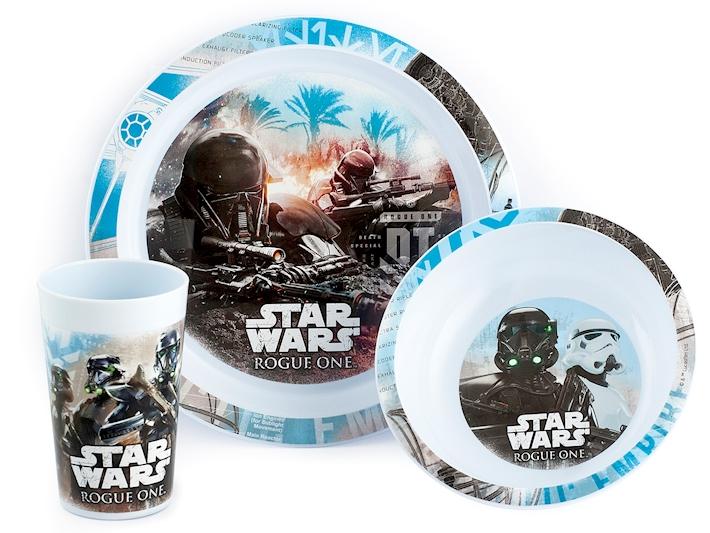 Set pranzo per il bambino con star wars