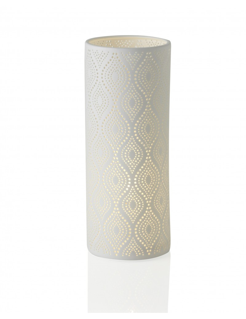 Lampada in porcellana Eclettica H37cm