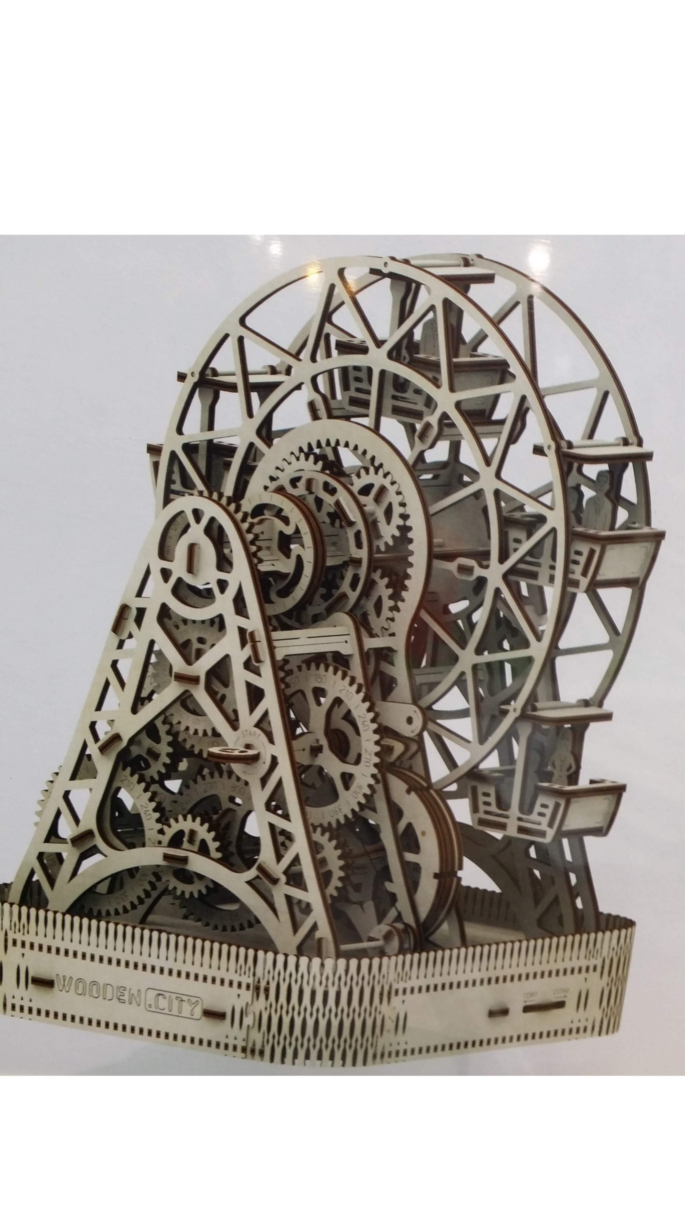 Puzzle 3D 'Ruota panoramica' con movimento
