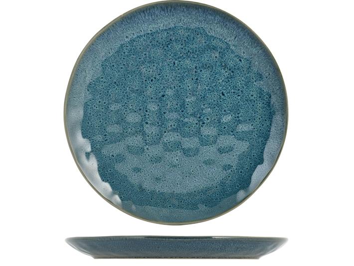 Piatto fruttta Mikonos blu
