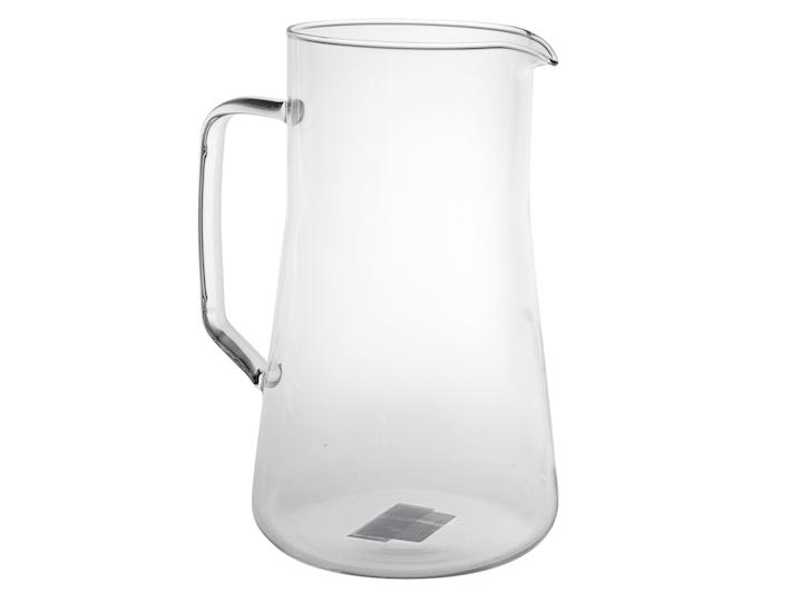 Caraffa con manico in vetro leggero da 2,5lt