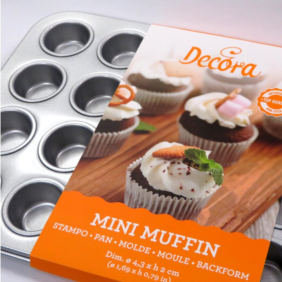 Stampo 24 mini muffin Decora