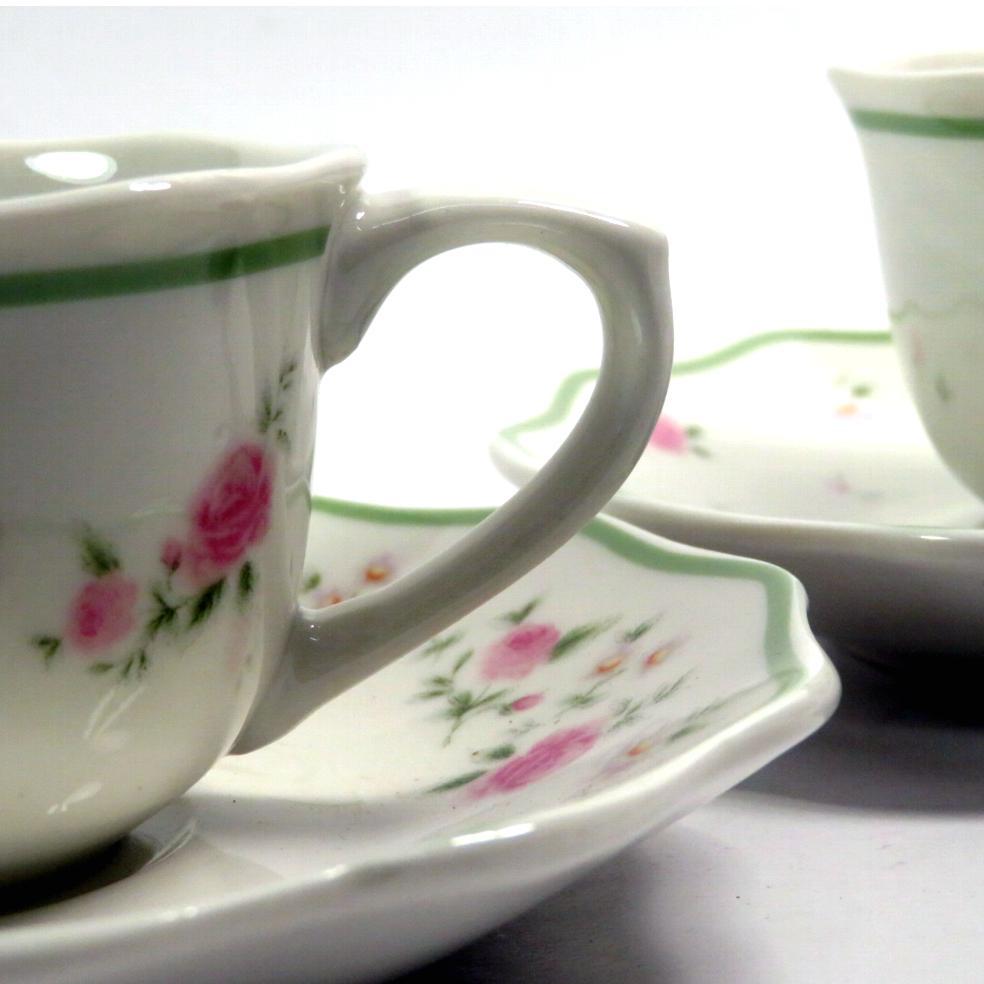 Tazze caffè nonna rosa 2 pezzi