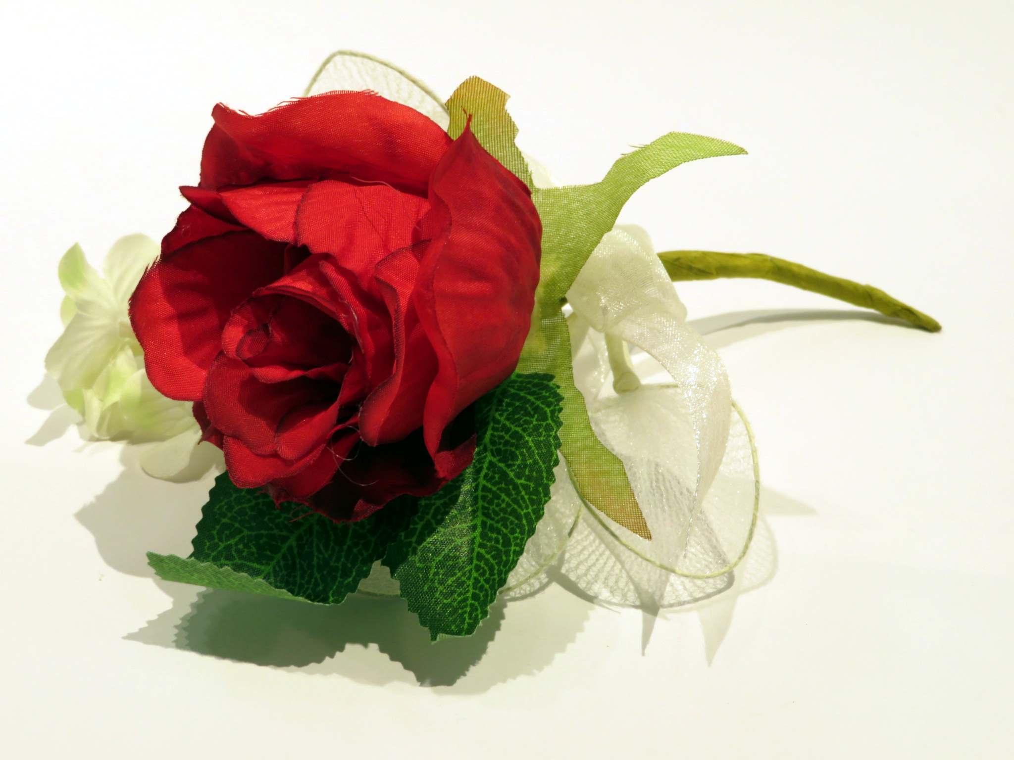 Fiore bouquet rosa porta confetti