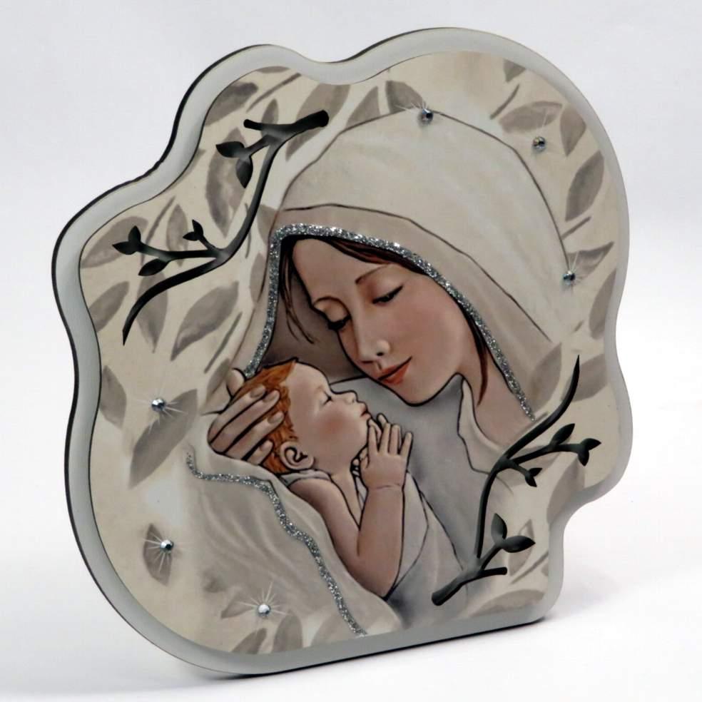 Icona maternitò con brillanti