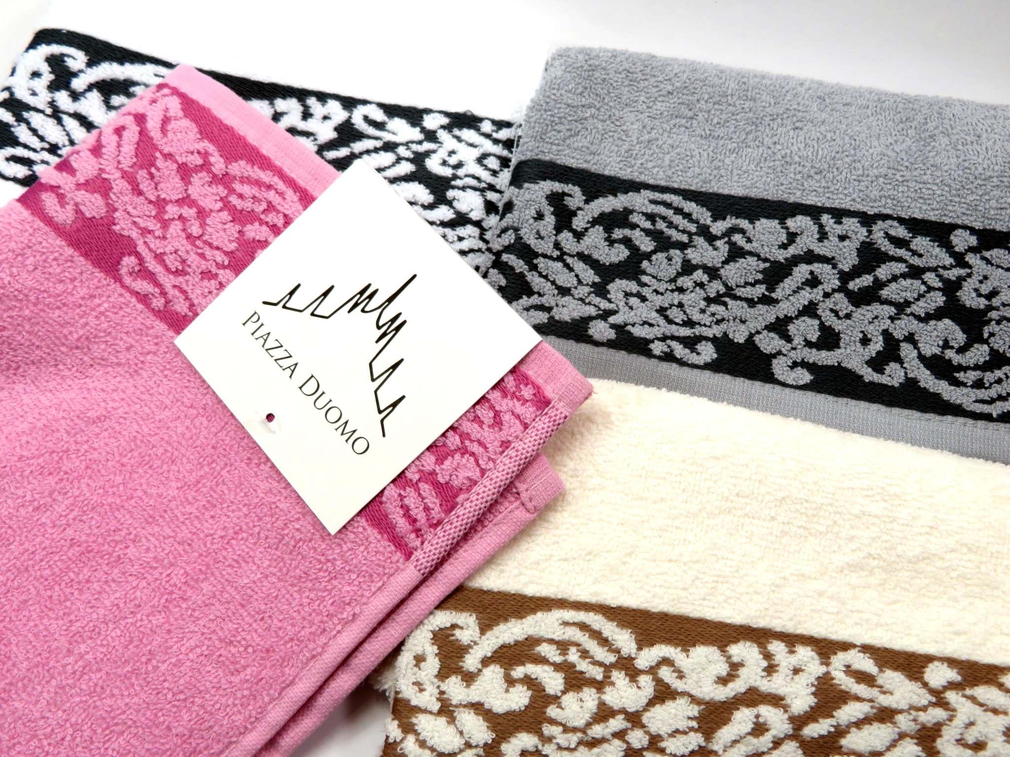 Asciugamano spugna 60x100 in cotone