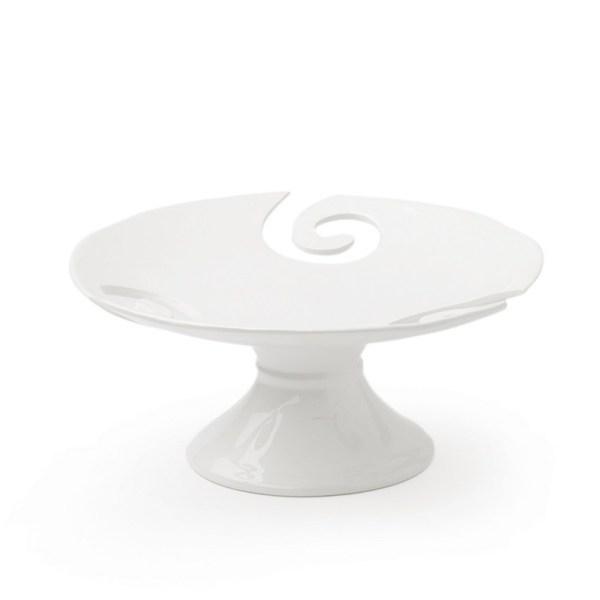 Hervit - alzata portafrutta in porcellana