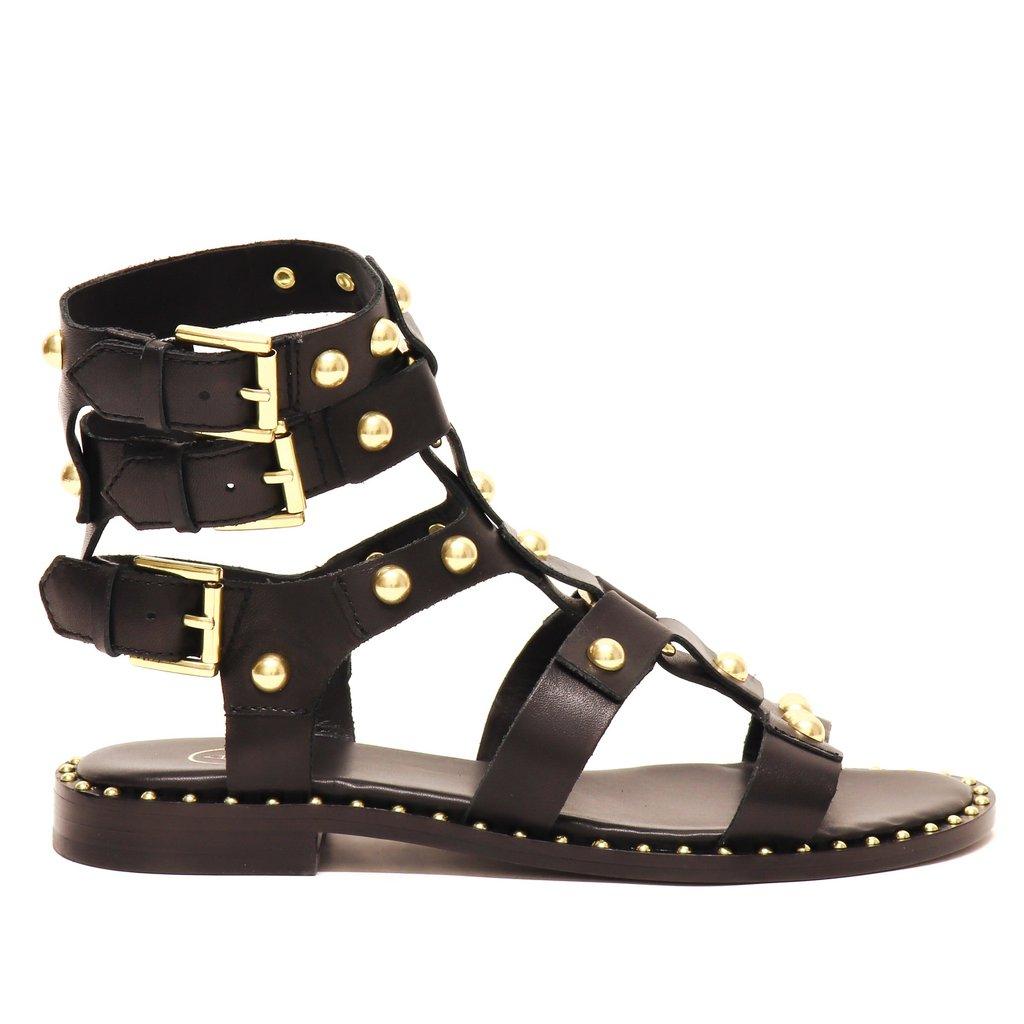 Sandalo Petrus01 blacK - ASH