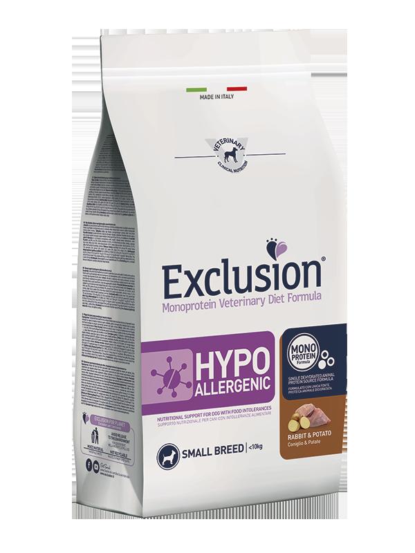 Exclusion Diet Hypoallergenic Small Breed Coniglio e Patate