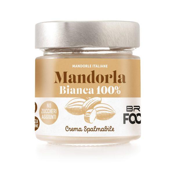 Crema Spalmabile Mandorla Bianca 100%