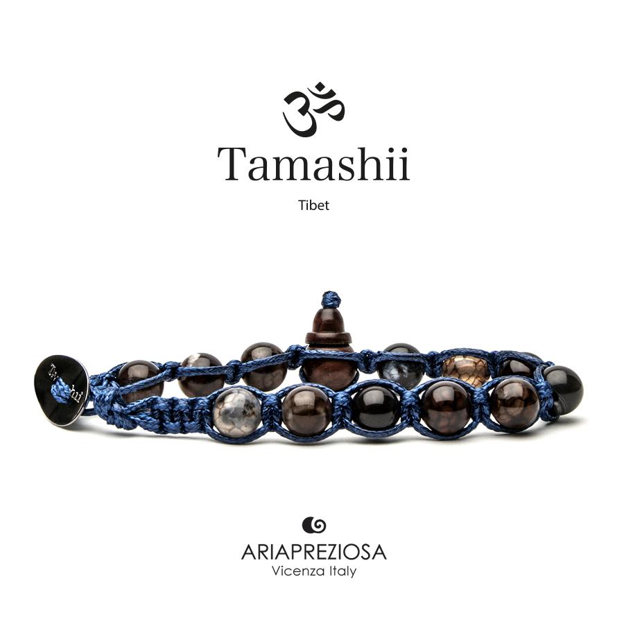 TAMASHII AGATA MARRONE CRACKED - BASE BLU