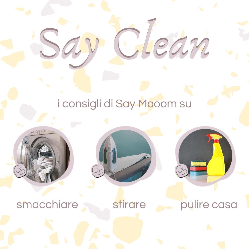 Say Clean