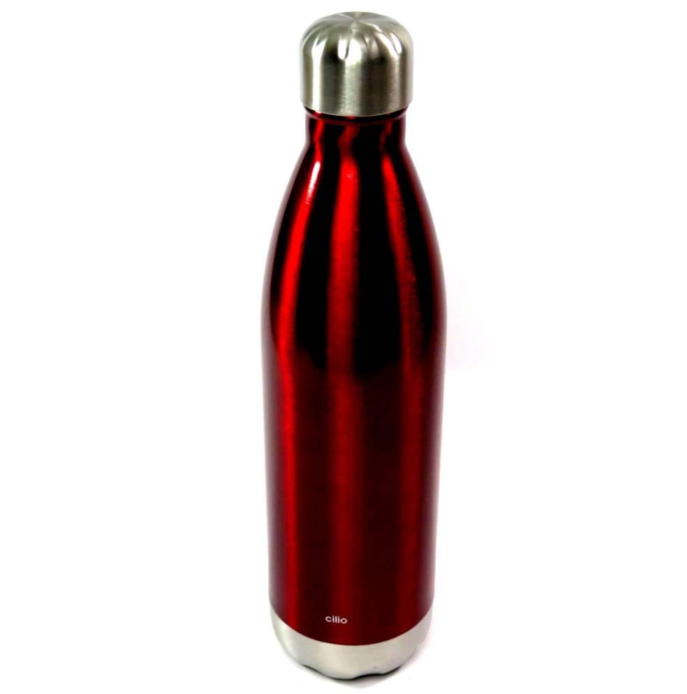 Bottiglia termica 1 litro rossa