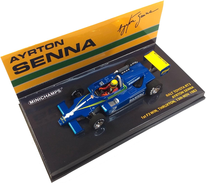 Ralt Toyota RT3 Ayrton Senn 1st F3 Win Thruxton 13th Nov 1982 1/43