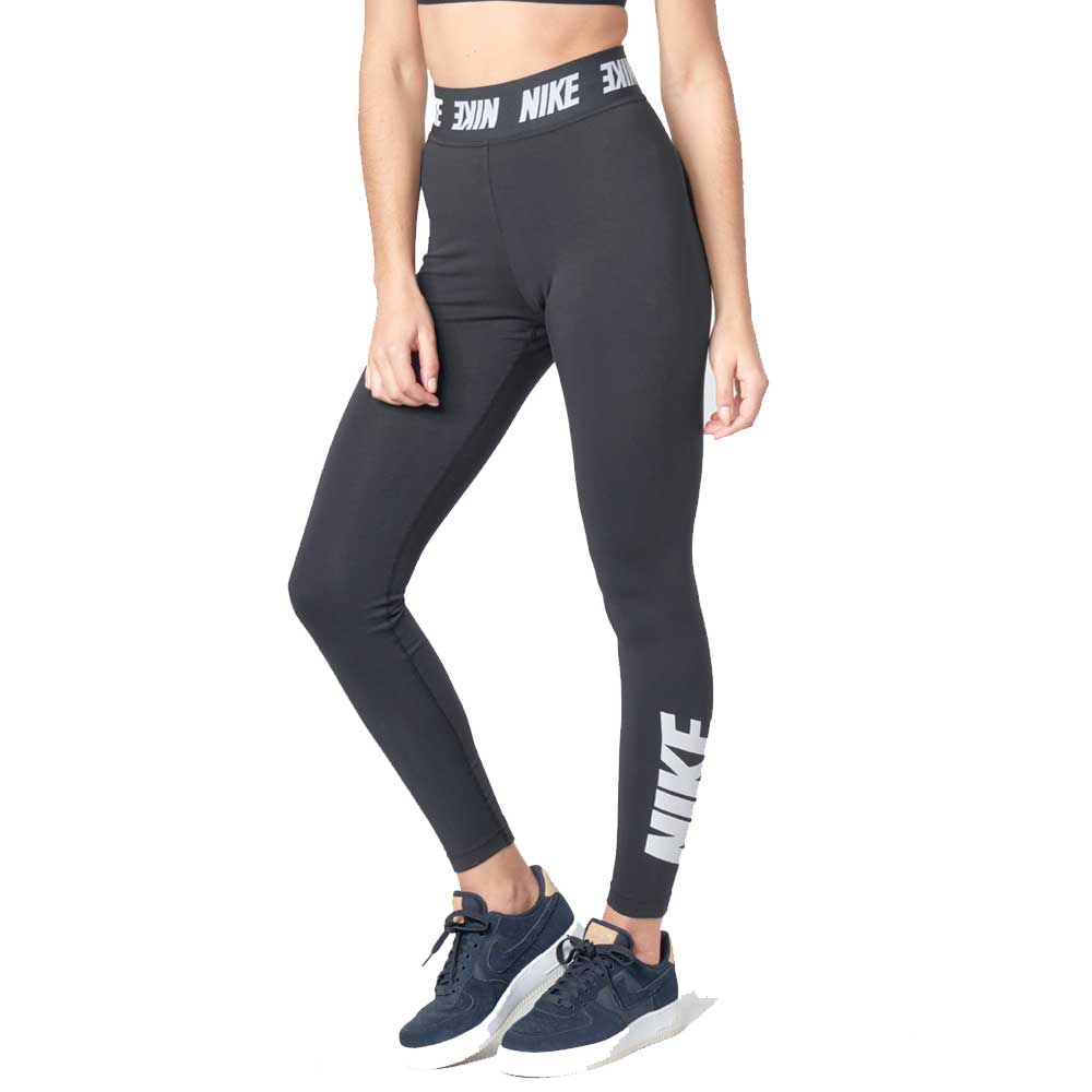 Nike Leggings Sportswear Black da Donna