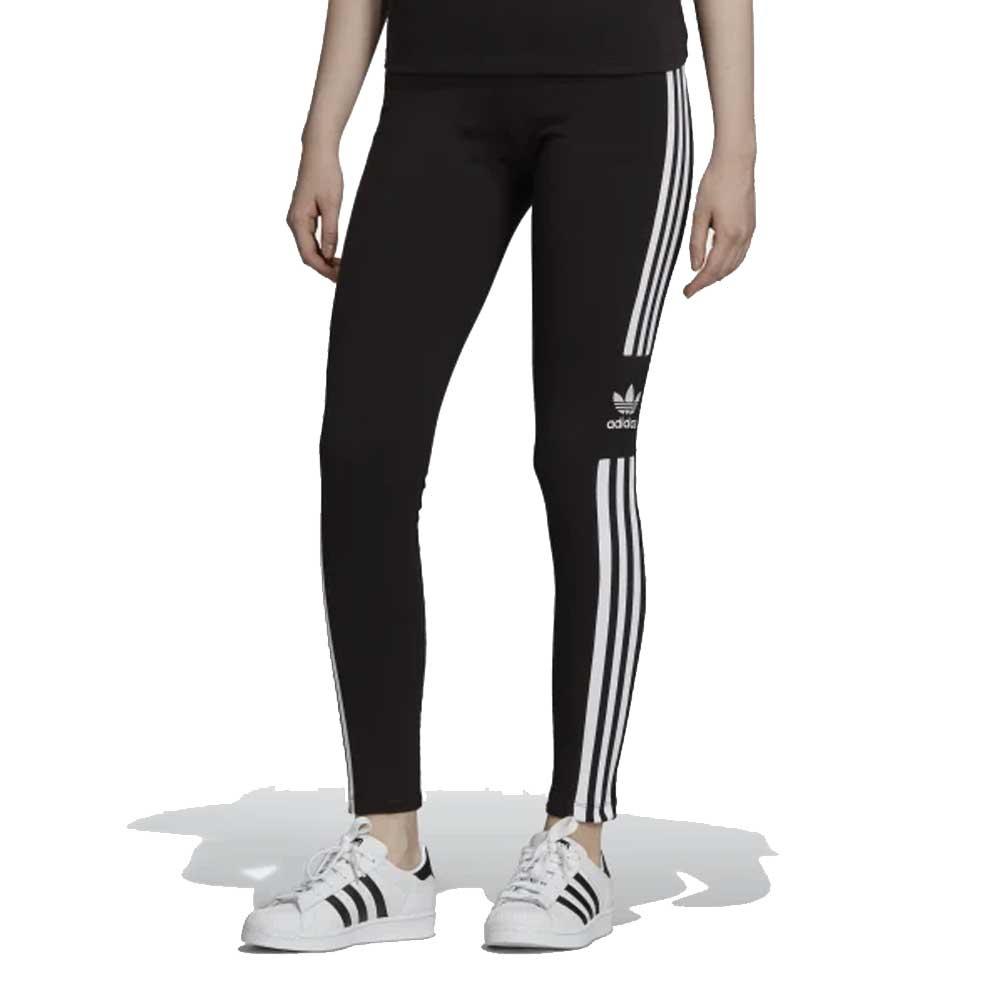 Adidas Leggings Stripes Black da Donna